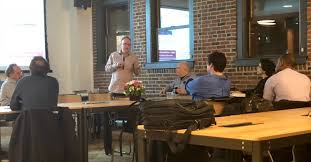 Rodney Hess at IoT Meetup, February 2018